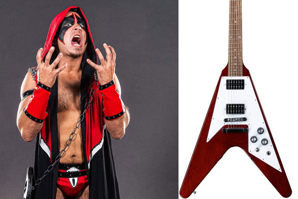 If Pro Wrestlers Were Guitars | MetalSucks