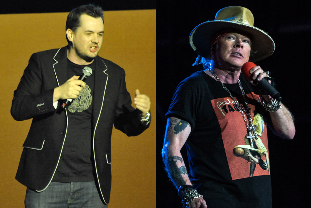 Axl Rose Confronts Jim Jeffries, Pantera Sound Guy Arrested, and More Stories You May Have Missed This Week | MetalSucks