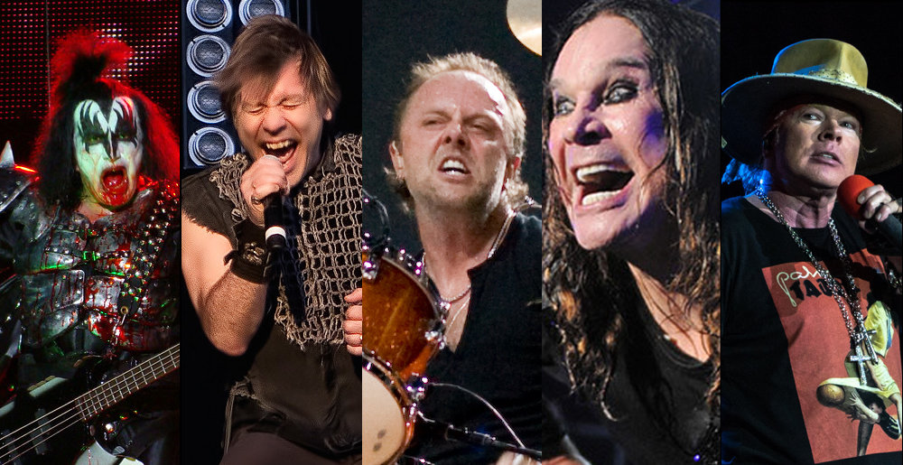 Over 200 Famous Metal and Hard Rock Musicians Ranked by Their Net ...