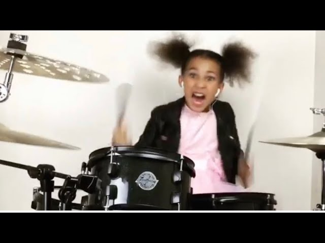 Watch a 9-Year-Old Girl Slay Metallica, System of a Down, and More on Drums | MetalSucks