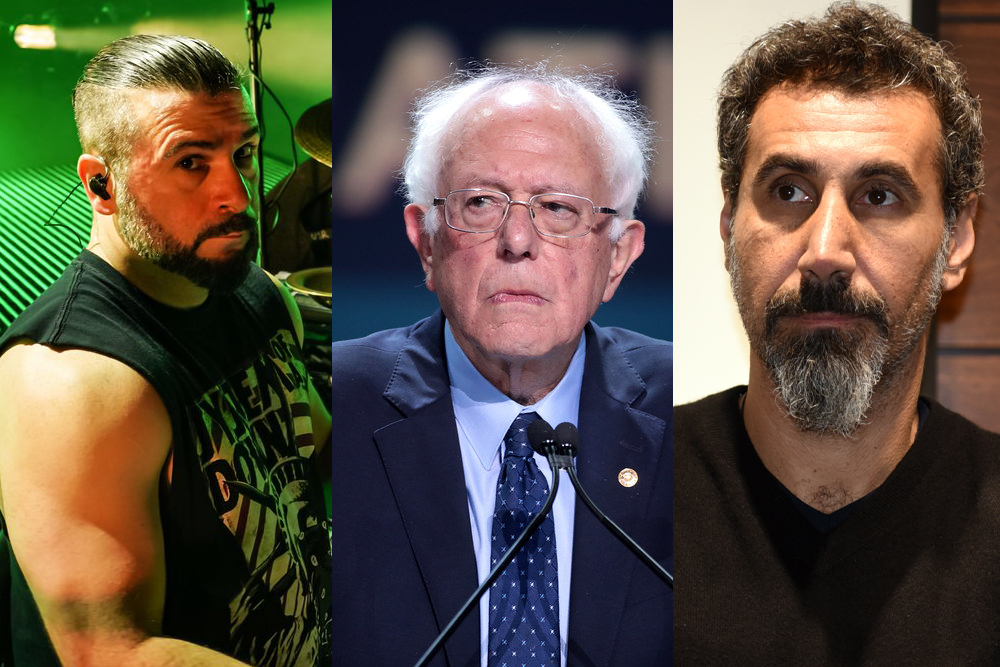 System of a Down Members Disagree About Bernie Sanders | MetalSucks