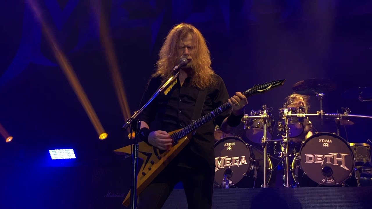 "Video: Megadeth Perform ""Dread and the Fugitive Mind"" for the First Time in 19 Years 