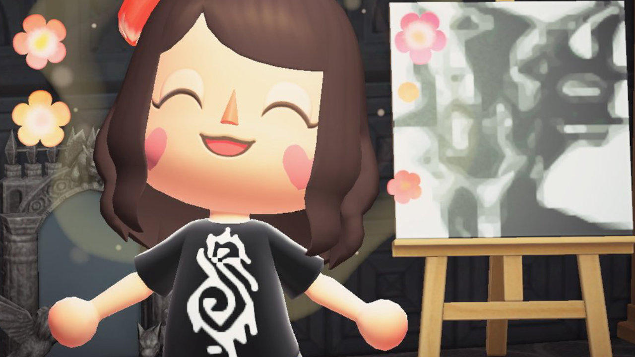 Animal Crossing Players Designing In Game Shirts For Metallica