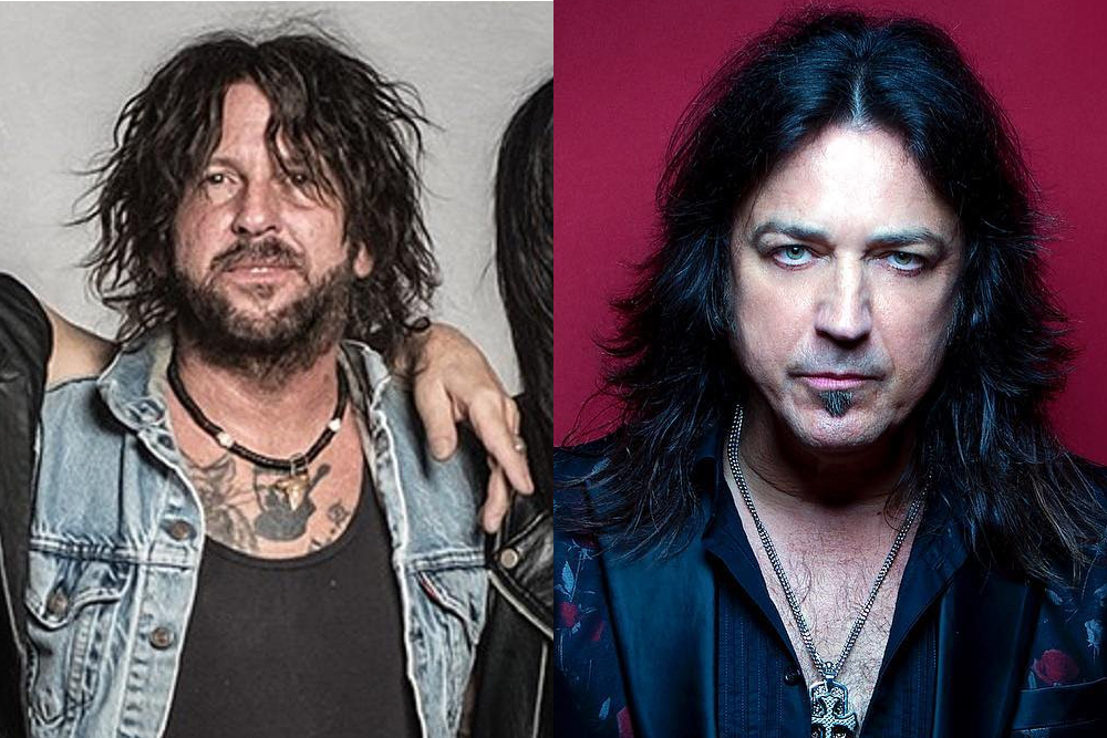 """Listen to 30 Seconds of Sunbomb, the """"Black Metal"""" Project From Stryper's Michael Sweet and L.A. Guns' Tracii Guns 