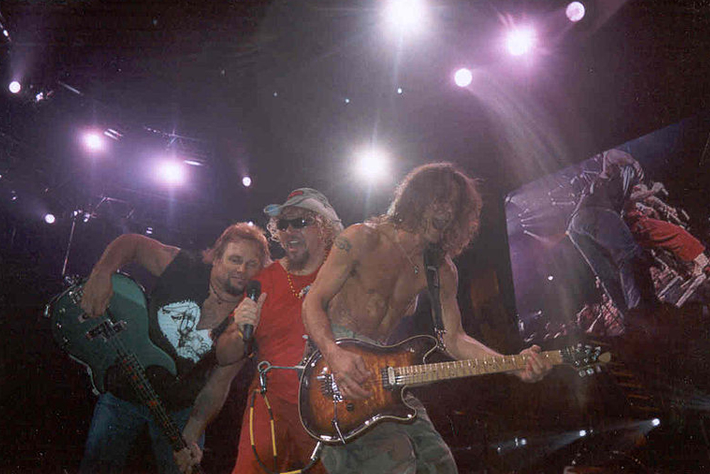 Van Halen's Record Label Wanted the Band to Change Names When Sammy Hagar Joined | MetalSucks