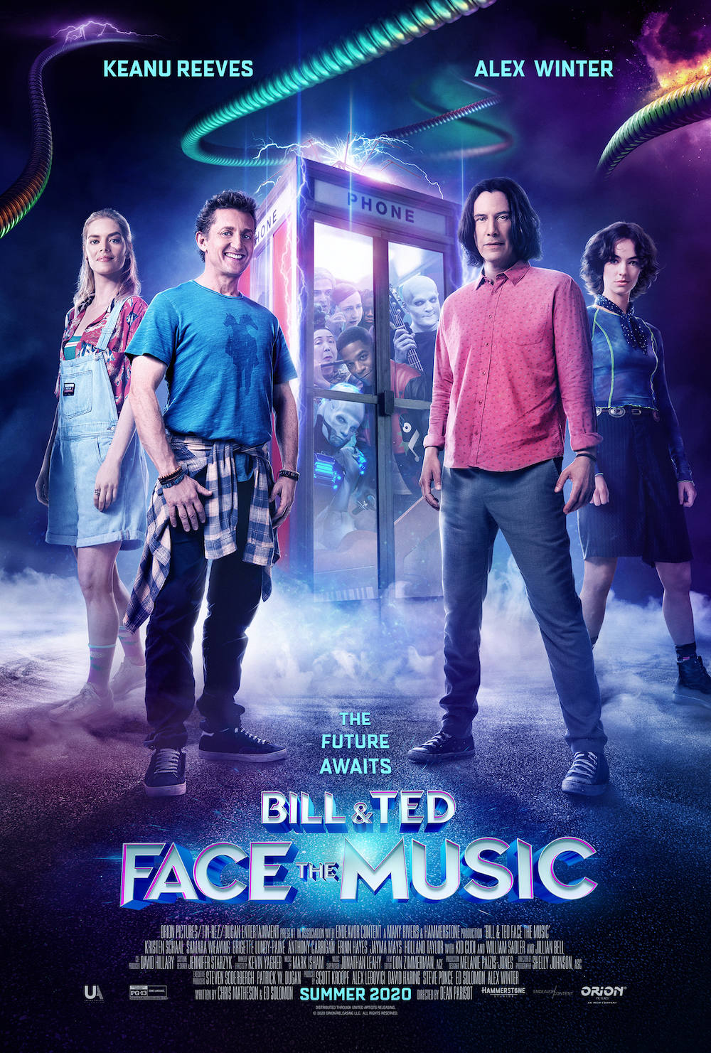 Watch the Most Excellent Bill & Ted Face the Music Comic-Con@Home ...