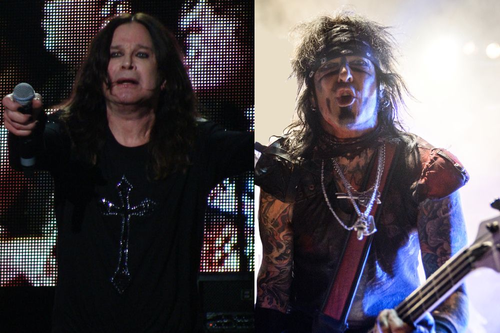 "Nikki Sixx Says That Ozzy Osbourne ""Isn't Doing Good"" 