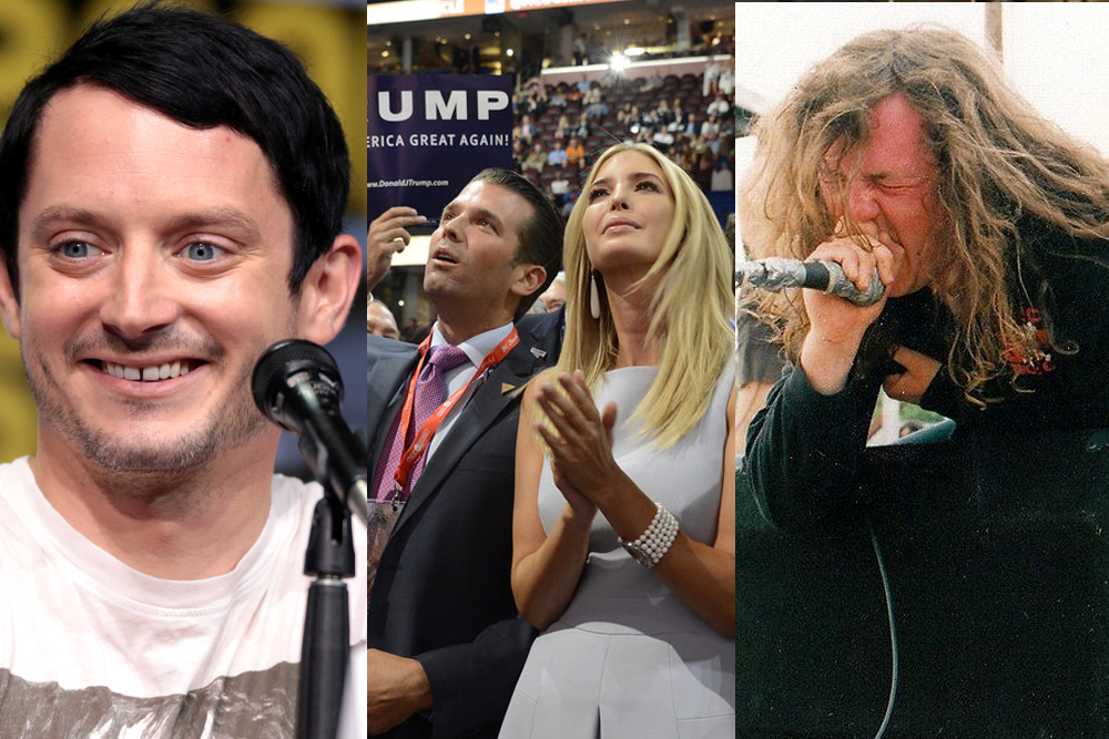 Elijah Wood Makes an Anal C*Nt Joke, Tom Morello Schools Another Conservative Fan, and More Stories You May Have Missed This Week | MetalSucks