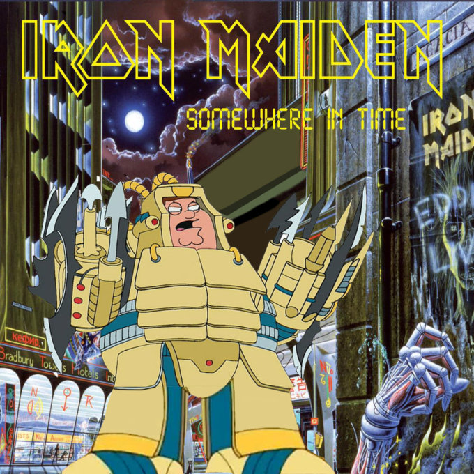 Metal Album Covers Recreated With Family Guy Characters Metalsucks