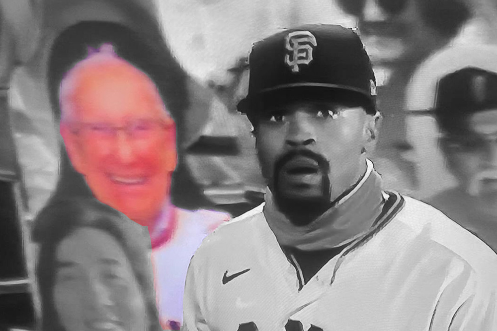 Cardboard Cutout of Cliff Burton's Late Father Spotted in the Stands of San Francisco Giants Game   MetalSucks