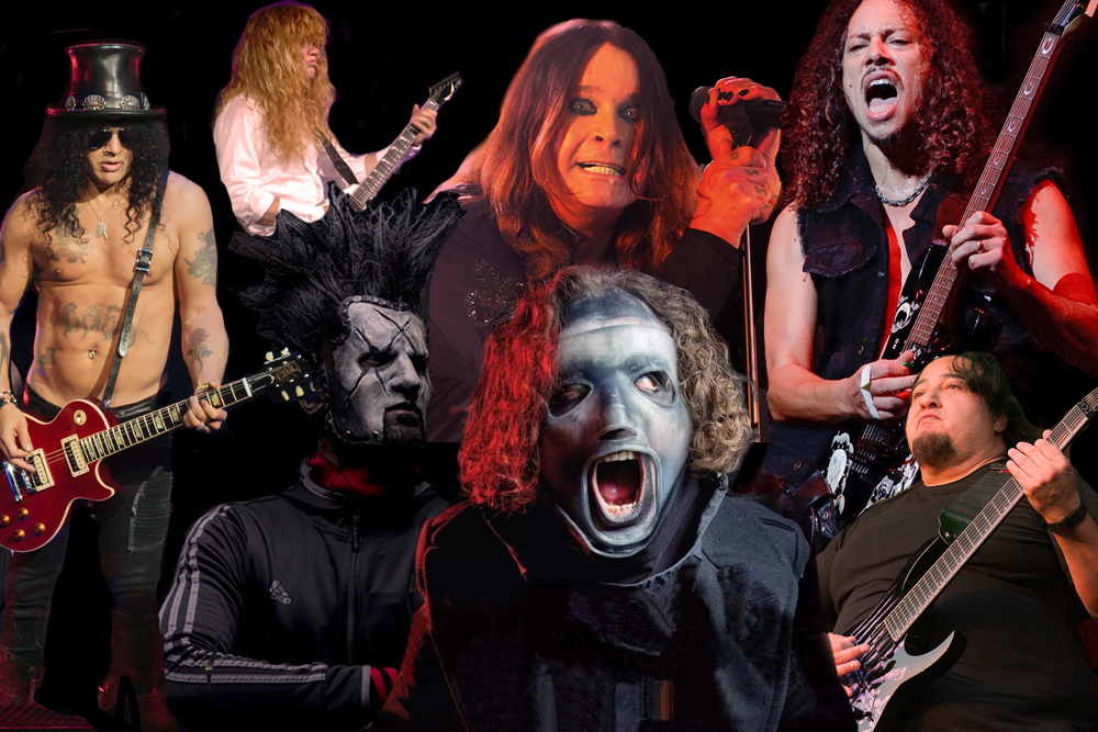The 50 Most Popular Metal Bands Right Now, According to the Internet | MetalSucks