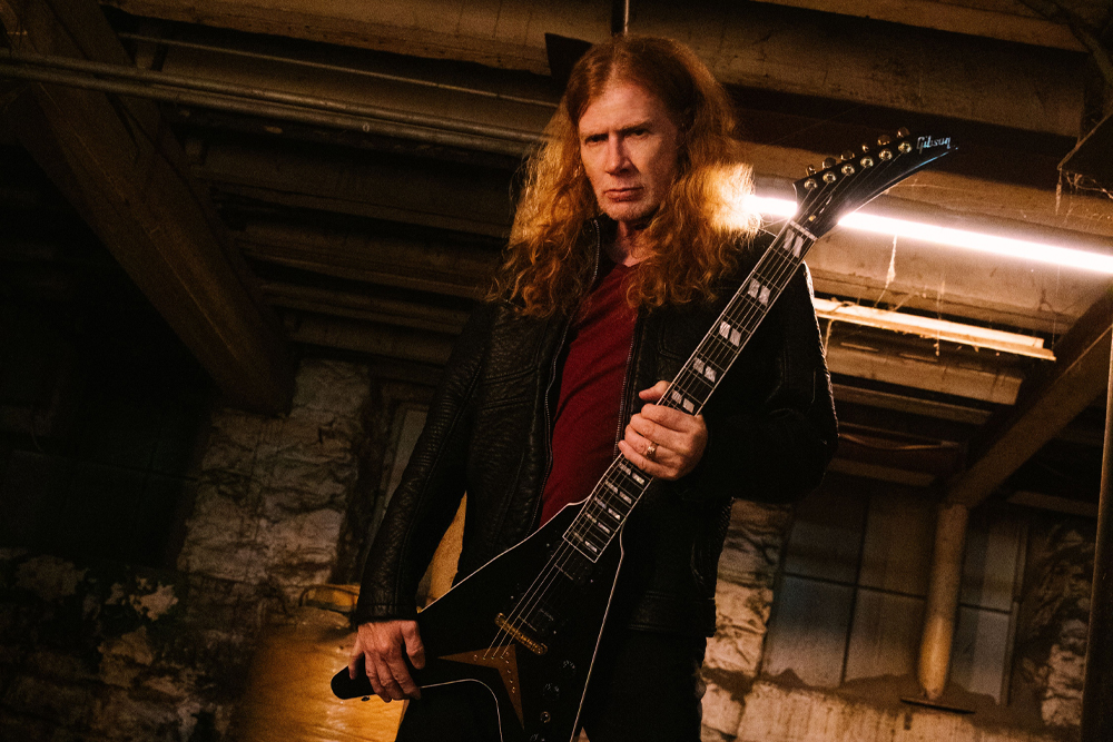 Dave Mustaine is Anti-Mask and Possibly Anti-Vaxx, Because of Course He Is   MetalSucks