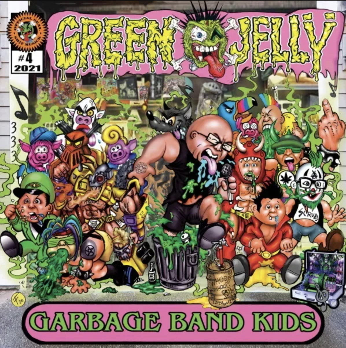 "Green Jellÿ's New Song, ""Punk Rock Pope,"" Is Surprisingly Catchy 