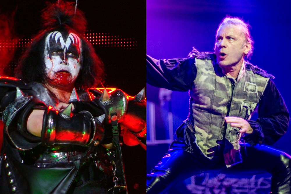 """Kiss Members Slam """"Sham"""" Rock & Roll Hall of Fame for """"Insanity"""" of Not Inducting Iron Maiden 